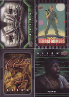 2016 Upper Deck Alien Anthology Ultra Mini Master Set (134)
