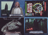 2016 Topps Star Wars Evolution Set + Ships & Vehicles + Comics + Lightsaber Sets (144)