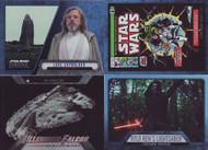 2016 Topps Star Wars Evolution Set + Ships & Vehicles + Comics + Lightsaber Sets (144)