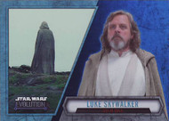 2016 Topps Star Wars Evolution Blue Parallel Set (100)