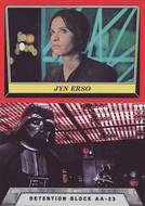 2016 Topps Star Wars Rogue One Mission Briefing Set + Death Star Set (119)