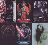 2016 Topps Star Wars Rogue One Mission Briefing Set + 6 Chase Sets (162)