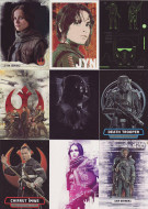 2016 Topps Star Wars Rogue Series 1 Ultimate Mini Master Set (176)