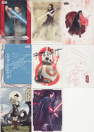 2017 Topps Star Wars The Last Jedi Mini Master Set (162)