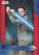 2017 Topps Star Wars The Last Jedi Blue Parallel Set (100)