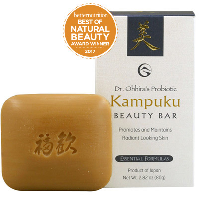 Dr. Ohhira's Probiotic Kampuku Beauty Bar