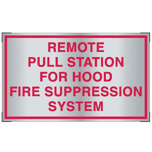 Aluminum Remote Pull Station For Hood Fire Suppression