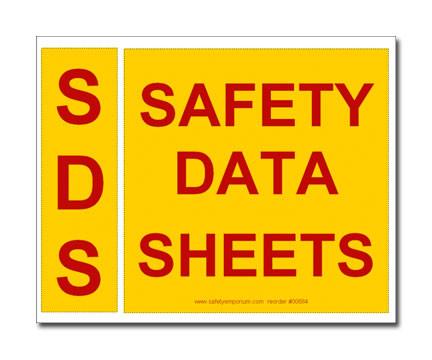 sds binder spine and cover label set safety emporium. Black Bedroom Furniture Sets. Home Design Ideas