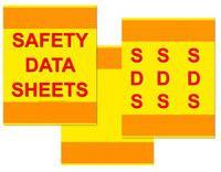 3 piece sds binder cover kit safety emporium. Black Bedroom Furniture Sets. Home Design Ideas
