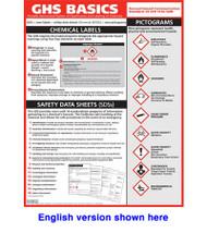 GHS Basics Training Poster, Spanish