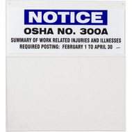 OSHA 300 Information Board
