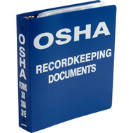 OSHA 300 Record Document Binder