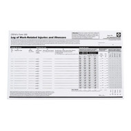 OSHA 300 Record Keeping Forms, 25/Pkg