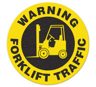 Anti-Slip Safety Floor Markers, Warning Forklift Traffic