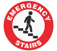 Anti-Slip Safety Floor Markers, Emergency Stairs
