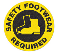 Anti-Slip Safety Floor Markers, Safety Footwear Required