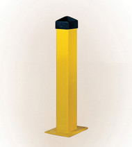 "Eagle Bollard Posts, 5"", Square, Yellow"