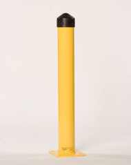 "Eagle Bollard Post, 6"" Nominal Diameter, Round, Yellow"