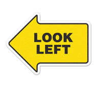 Anti-Slip Safety Floor Markers, Look Left Arrow