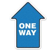 Anti-Slip Safety Floor Markers, One Way Arrow