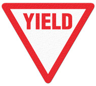 Anti-Slip Safety Floor Markers, Yield, Triangle