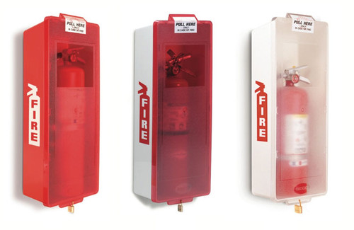 ... Fire Extinguisher Cabinets, Mark II. Image 1