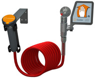 Guardian G5018 Drench Hose Unit, Wall Mounted w/ Flag Activation Handle