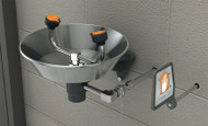 Guardian GFR1814 Freeze-Resistant Eyewash, Wall Mounted, Stainless Steel Bowl