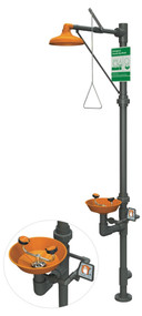 Guardian G1993 Series Safety Stations with Eye/Face Wash, All-PVC Construction