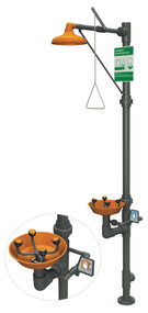 Guardian G1998 Series Safety Stations with WideArea™ Eye/Face Wash, All-PVC Construction