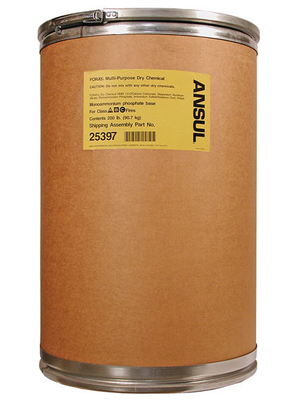 Ansul Foray Class Abc Extinguisher Powder 200 Lb Drum