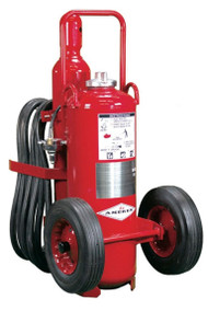 Amerex Regulated Pressure Wheeled Fire Extinguishers