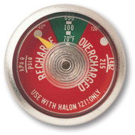 Halon 1211 Fire Extinguisher Gauges