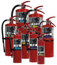 Ansul Sentry Foray ABC Dry Chemical Fire Extinguishers
