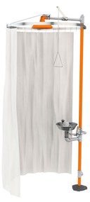 Guardian AP250-015 Modesty Curtain for Horizontal Showers and Safety Stations