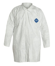 DuPont™ Tyvek® Lab Coats, White, Case/30