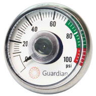 Replacement Guardian 400-004-2 Pressure Gauge for G1562 Eye Washes