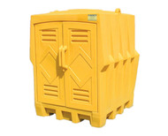 Eagle 4 Drum Poly Storage Unit
