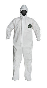ProShield® 50 Coveralls, Zipper Front, Elastic Wrists and Ankles, Hood