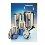 DILVAC Stainless Steel-Cased Glass Dewar Flasks