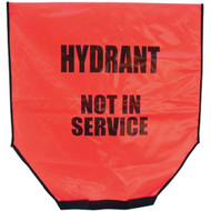 Heavy-Duty Fire Hydrant Cover, Red