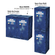 Eagle Modular Quik-Assembly™ Polyethylene  Acid & Corrosive Cabinets, 24 Gallon