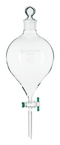 Globe Shaped, Large Capacity Separatory Funnel