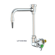 L2714-Series Single Laboratory Faucets, Panel-Mounted