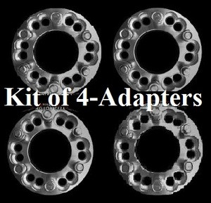6x135 to 6x5.5 (Set of 4) Wheel Adapter Special 1.5 inches