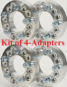 5x5.5 to 5x4.5 (Set of 4) Wheel Adapter Special 1.25 inch