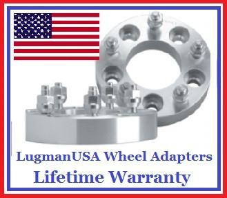 5x130 T0 5x130 Lugmanusa Wheel Adapters Pair Of 2