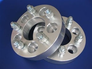 5x4.75 to 5x4.75 (5x120.7 to 5x120.7) Standard Wheel Adapters (Pair of 2) 7/16 Studs