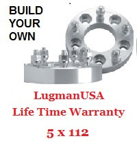 LugmanUSA Life Time Adapter - Build Your Own 5x112