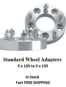 Wheel Adapters 5x135 to 5x135 (pair of 2)